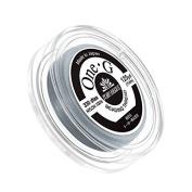 Toho One-G Nylon Beading Thread 0.2mm Grey 125yd Reel