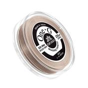 Toho One-G Nylon Beading Thread 0.2mm Beige 250yd Reel