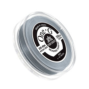 Toho One-G Nylon Beading Thread 0.2mm Grey 250yd Reel