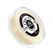 Toho One-G Nylon Beading Thread 0.2mm Cream 250yd Reel