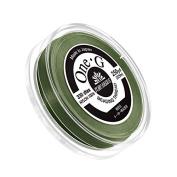 Toho One-G Nylon Beading Thread 0.2mm Green 250yd Reel