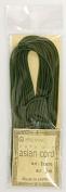 Asian cord 1 mm deep green 5 m