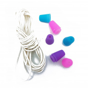 Children Kids Jewellery Making Cord and Plugs Pony Bead Necklace Craft DIY By Accessories Attic®