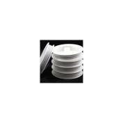 Beads4crafts White Tiger Tail Reel 0.45mm (100 Metres) TWTT1516