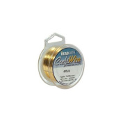 Beadsmith Craft Wire 18 Gauge Gold Colour Round Wire 4 Yards by Beadsmith