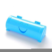 Kitchen Cartoon Smile Face Garbage Bag Receiving Box Grocery Bag Holder Trash Organiser Recycling Containers