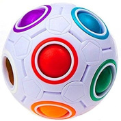 Magic Rainbow Puzzle Ball - Fidget Toy for Children and Adults, Relieve Stress-Anxiety