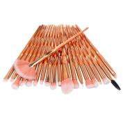 Make up Brushes,   20 Pcs/Set   Make Up Foundation Eyebrow Eyeliner Blush Cosmetic Concealer Brushes