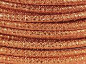 5 m Aluminium Wire Embossed Copper Colour 4 mm