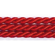 RAYHER – Braided cord – Diameter 4 mm – Red Cord – sold by the metre