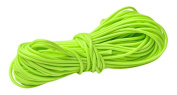 Beads Unlimited NCN16-10 1 mm Waxed Polyester Cord, Neon Green