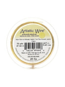 Artistic Wire Spools 30 yd. non-tarnish brass 26 gauge [PACK OF 4 ]