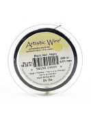 Artistic Wire Spools 20 yd. black 24 gauge by Artistic Wire