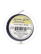 Artistic Wire Spools 15 yd. purple 20 gauge by Artistic Wire