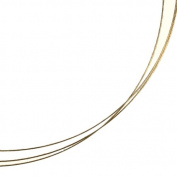 Gold Filled 14/20 Jewellery Wire Thinnest 30 Gauge Hard (Qty=0.6m) by uGems Wire