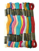 Coloured yarn for Brazilian bracelet - Bollywood Metal