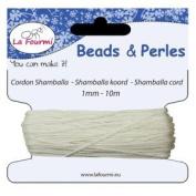 Shamballa White 1mmx10 m Thread – Thread Shamballa Braiding