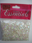 SEQUINS MIX PEARL WHITE