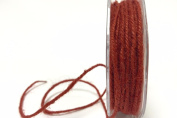 Red Jute 3mm Cord by Bertie's Bows on a 25m Roll