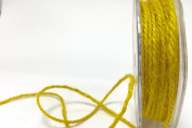 Yellow Jute 3mm Cord by Bertie's Bows on a 25m Roll