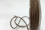 Light Brown Jute 3mm Cord by Bertie's Bows on a 25m Roll