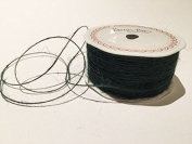 Forest Green Jute 1mm Cord by Bertie's Bows on a 200m Roll