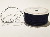 Navy Jute 1mm Cord by Bertie's Bows on a 200m Roll