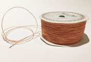 Peach Jute 1mm Cord by Bertie's Bows on a 200m Roll