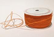 Orange Jute 1mm Cord by Bertie's Bows on a 200m Roll