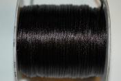 Dazzle It 1.5 mm Rattail Cord 100 yd, Black