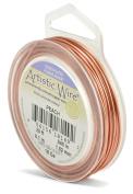 Beadalon 6.1m Artistic 18-Gauge Silver Plated Wire, Peach