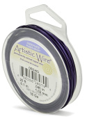 Beadalon 6.1m Artistic 18-Gauge Silver Plated Orchid Wire