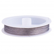Tiger Tail Beading Wire 90m 0.3mm Silver