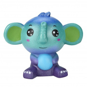 Soft Toys,Familizo Jumbo Cute Galaxy Elephant Squishy Scented Cream Super Slow Rising Squeeze Toys