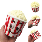 Soft Toys,Familizo Big Popcorn Cup Squishy Scented Slow Rising Squeeze Dolls Decompression Toy