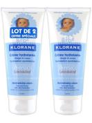 Klorane Baby Moisturising Cream 2 x 200ml