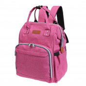 Domybest Multi-functional Mom Backpack Large Capacity Baby Nappy Travel Bag Holder Organiser