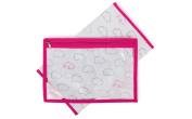 Pink Lining Yummy Mummy Baby Changing Nappy Mat & Wet Bag