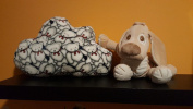 Cushions plush cloud Shaped pillow Nursery Children's Bedroom Kids decoration 100% cotton bear