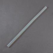 NBEADS 1000g Clear Plastic Hollow Sticks Used for Glue Gun,190x7mm,about 130pcs/1000g