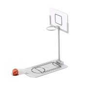 Fengirl Creative Funny Desktop Miniature Basketball Game Toy, Fun Sports Novelty Toy or Gag Gift Idea