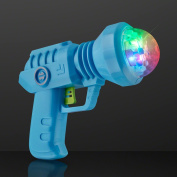 Space Gun Cool Light Toy with LED Projecting Lights by FlashingBlinkyLights