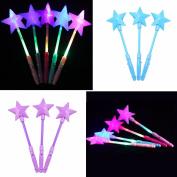 lecimo LED Magic Star Wand Flashing Lights up Glow Sticks Party Concert Luminous toy