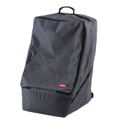 Premium Car Seat Travel Bag - Padded Backpack for Aeroplane Gate Cheque In - Denim Colour