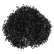 Omeny Approx.2880Pcs 3mm Hot Fix Flatback Rhinestones Iron On - Black