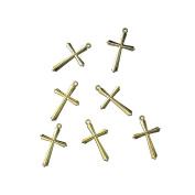 1516506 - RAYHER - 1516506 - Acryl-Kreuz, 28 mm, SB-Btl. 5 Stück, gold