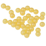 Nizi Jewellery No Hole Round Pearl Beads Bead Assortments Matte Shine Gold Colour Perfect For Crafts Arts Jewellery Making 6Mm 5000Pcs