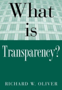 What Is Transparency.