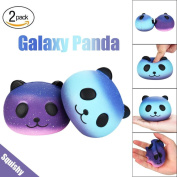 sunnymi® Decompression Toy, Starry Cute 10cm Panda Baby Cream Scented Rising Squeeze Kids Toy