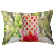 TIREOW Fashion Easter Rectangle Pillow Cover Cushion Case Toss Pillowcase Hidden Zipper Closure